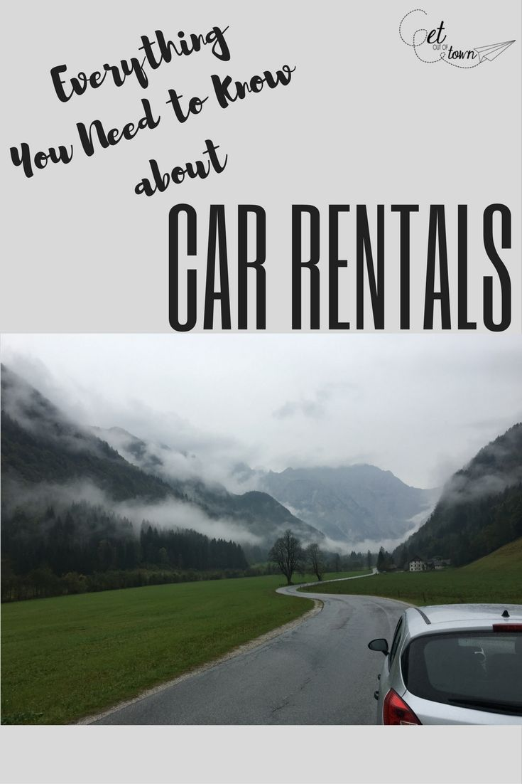 Everything You need to Know About CAR RENTALS | Rental Insurance | Navigation | Travel Tips | Road Trip