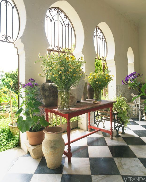 periwinkleliving:  (via Umberto Pasti's Tangier garden. | Charming | Pinterest)