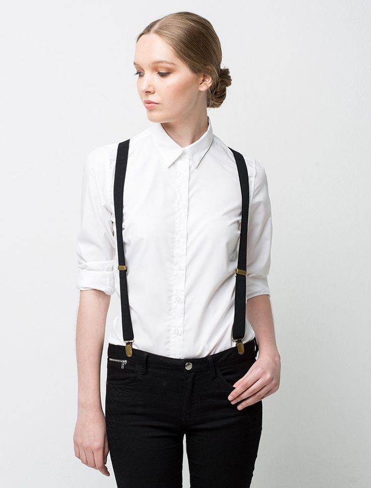 Classic Braces - Black | Cargo Crew - Staff Uniform Shop Australia