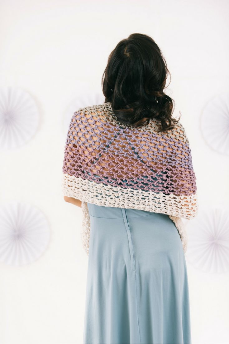 100 best crochet shawl patterns images on pinterest amethysts lovely and lacy crochet shawl pattern bankloansurffo Choice Image