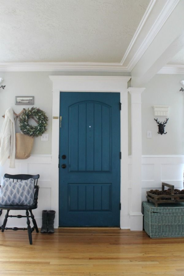 White Wood Paint Exterior Part - 36: Make A Large Space Cozy... The Magic Of Paint. #beautyinthedetails #