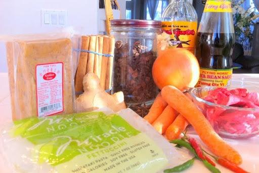 Zero Calorie Miracle Noodle Pho Recipe