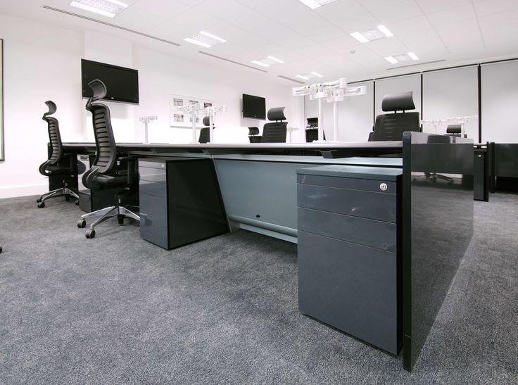"DRC group - ""Ultra"" Dealing Desk #design #interiordesign #fitout #dealingdesks #trading #room"