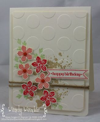 Wendy Weixler: Wickedly Wonderful Creations: Birthday Cards for Display - 7/29/14