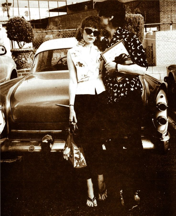 Lux Interior & Poison Ivy, The Cramps