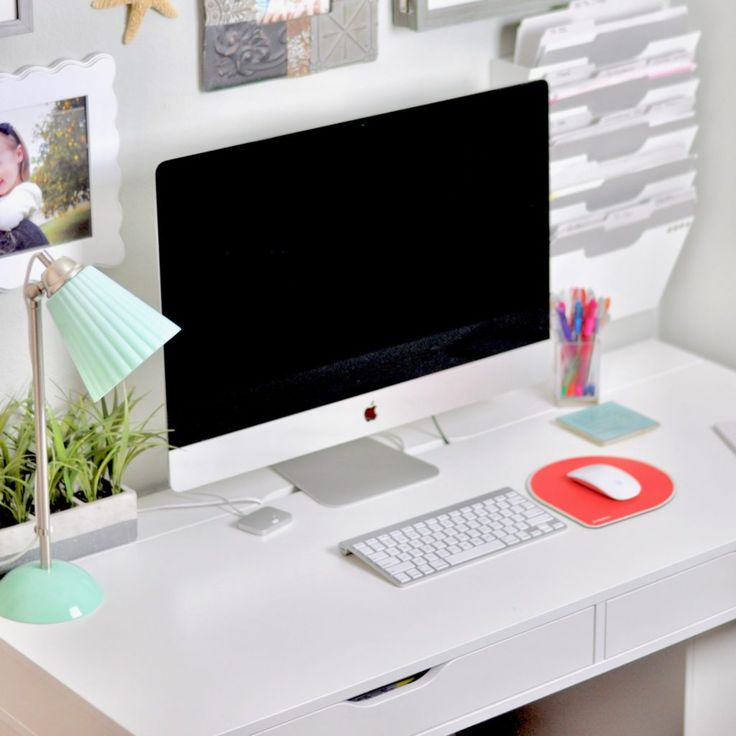 Organized Home Office - Declutter Your Office Today! - Intentional Edit - Professional Home Organizer, Phoenix