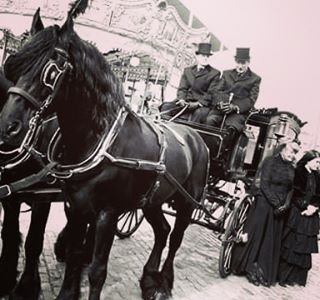 Massey Brothers - #lateagram from #easter2016 #funeral #hearse #horse #blackandwhite #blackhorse #horsedrawncarriage #coffin #funeraldirector #dublin #ireland #masseybrothers #widow #death #nostalgia #easter #rising1916 #instadublin #instadaily #instalike #instalikes #instapic #tophats #instadeath #black #smithfield #old #instafuneral