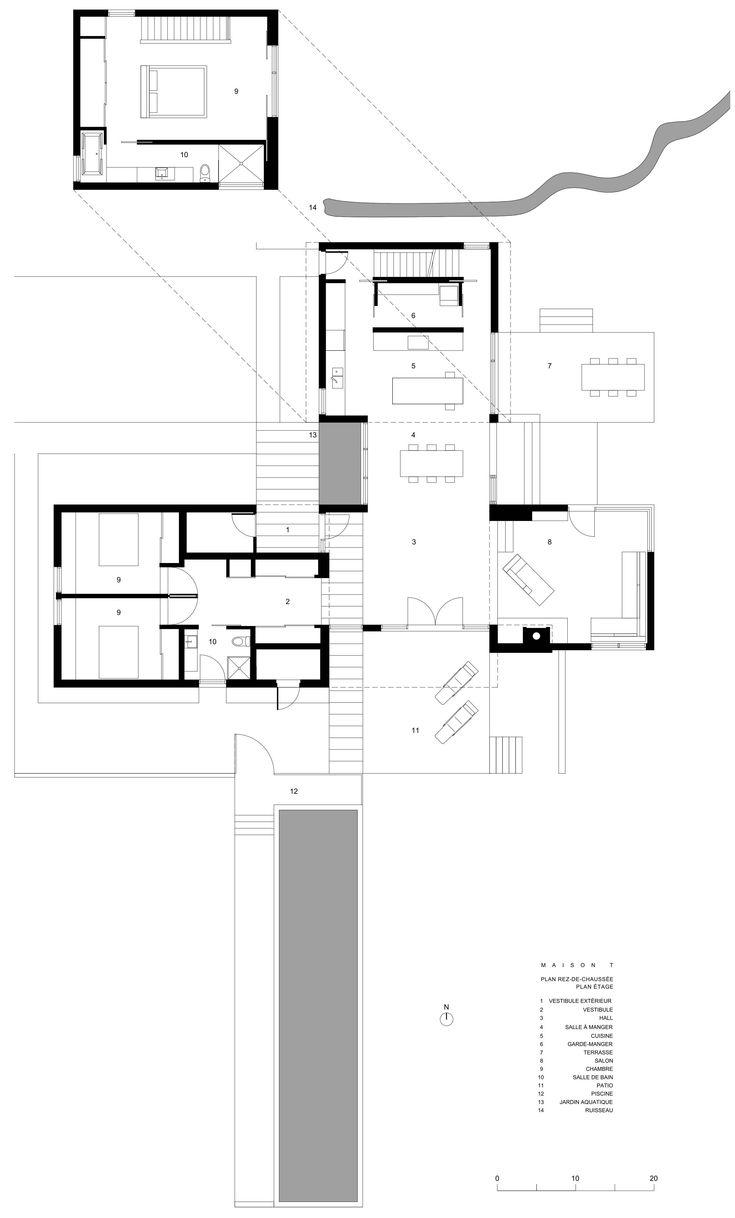 Modern Architecture House Floor Plans 98 best planos distribucion images on pinterest | architecture
