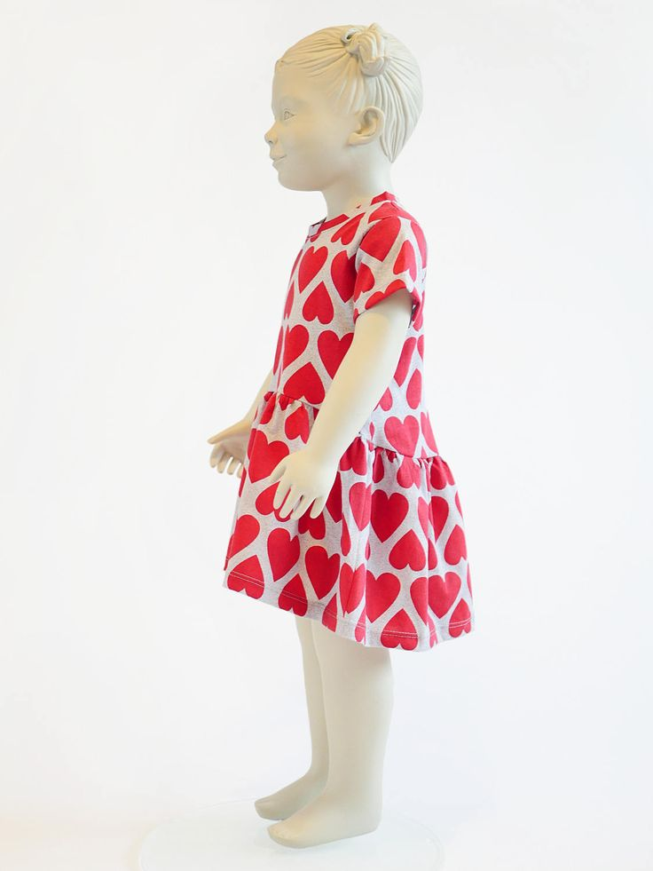 Girls dress Sewing Pattern PDF, dress pattern from 2 to 10 years.