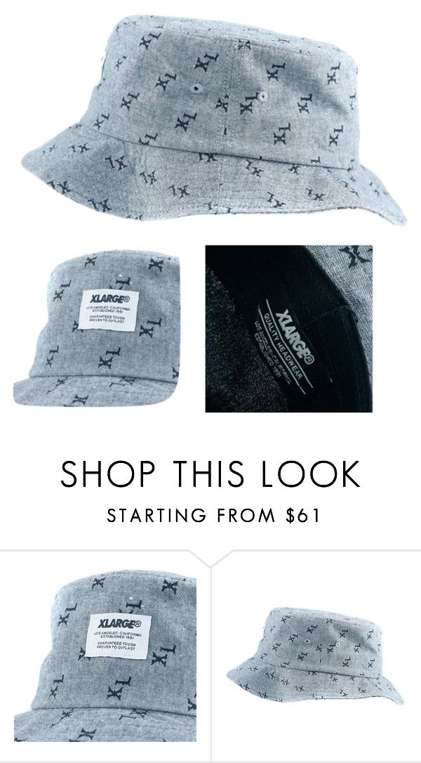 The X-Large Sanchez Bucket Hat Black Is Now Online. Costing You Just £39.95. by blacksheepstore on Polyvore