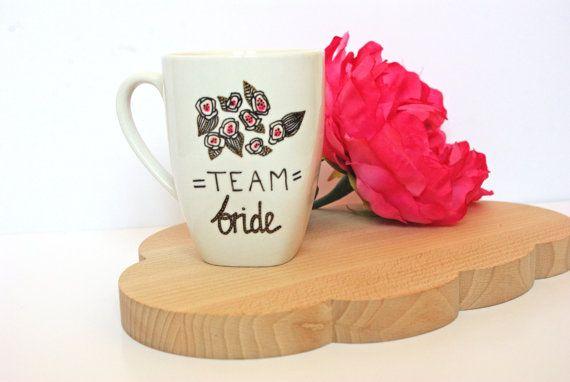 Tasse Team Bride  Tasse pour demoiselle par GodSavetheTeatime