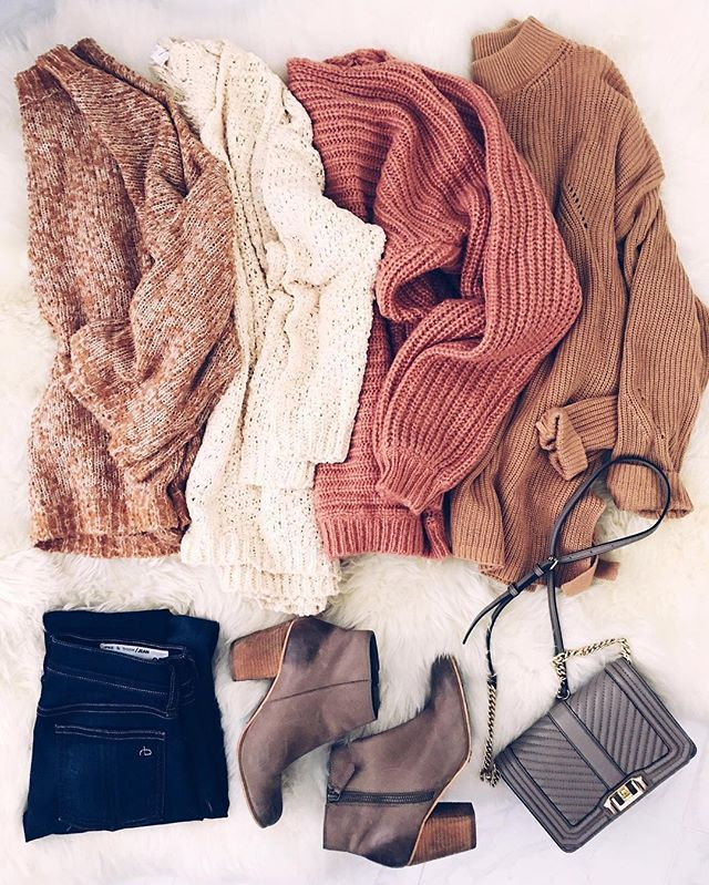 Can you feel the crisp fall air looking at these sweaters?! Oh it's just me?    #mindymaesmarket #dreamcloset