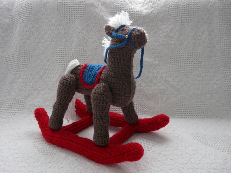 how to clean stuffed rocking horse