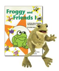 |Grades K-3| Froggy and his eight friends bring excitement to any learning situation as he teaches young students about self-esteem, good manners, good lunchroom behavior, safety at school, listening, peer pressure, best friends, and finders keepers (stealing/not returning found items).
