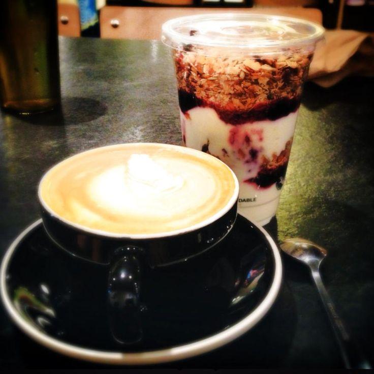 Gluten free morning. #Pemberton #Coffee
