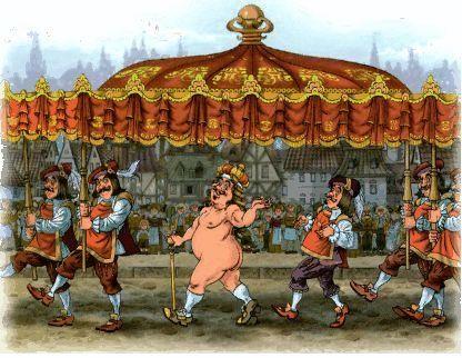 Ганс христиан андерсен новое платье короля его одежда