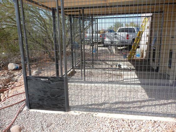 snake proof dog kennel