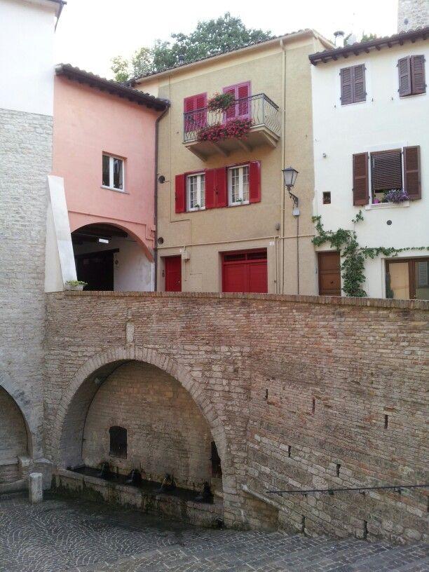 Visuale dalle fontane di San Martino