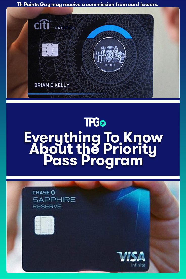 Everything to Know About the Priority Pass Program