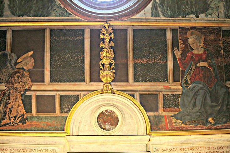 L'Annunciazione di Alesso Baldovinetti - Category:Cappella del Cardinale del Portogallo - Wikimedia Commons