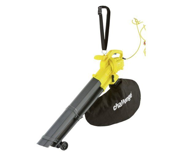 Buy Challenge 2600W Blower And Garden Vacuum at Argos.co.uk, visit Argos.co.uk to shop online for Leaf blowers and garden vacs, Lawnmowers and garden power tools, Home and garden
