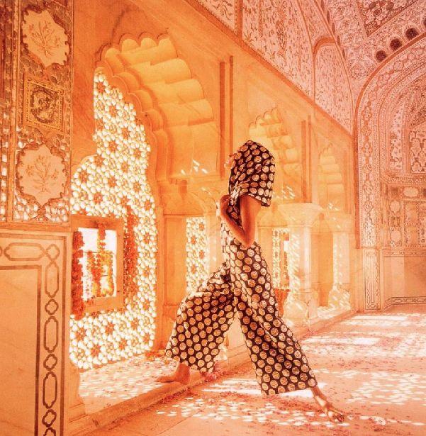 60's Vogue Moroccan Photoshoot