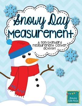 """***This product is free for today, December 31st, ONLY!***  This is a fun measurement activity for non-standard measurement.  Your students will use the included snowflake """"rulers"""" to measure the included winter object pictures.  Includes 10 winter object picture cards for measuring, snowflake rulers for measuring, and a recording sheet."""