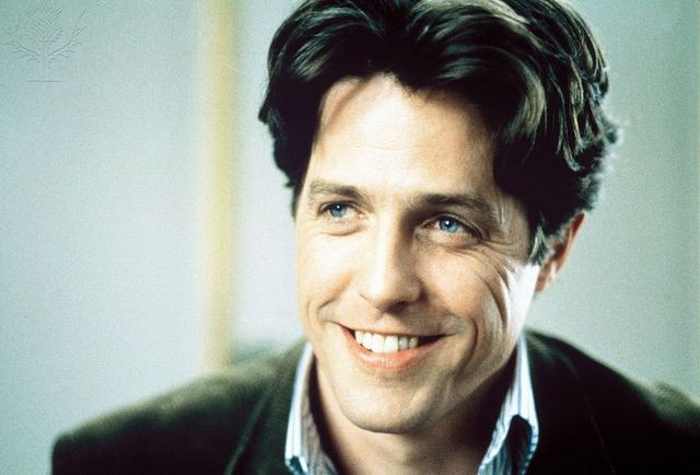 Hugh Grant as an awkward bookshop owner in the film Notting Hill.