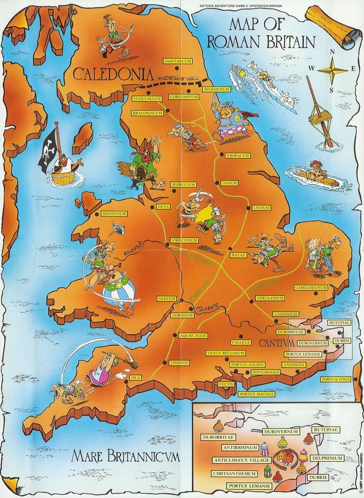 Asterix comics fit in perfectly with our history studies and the older boys love them....I love the maps!