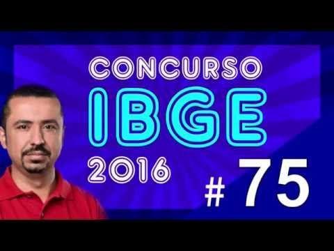 Concurso IBGE 2016 - Agente de Pesquisas e Mapeamento - Português aula 75