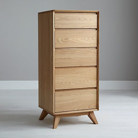Buy House by John Lewis Stride Tall 5 Drawer Chest Online at johnlewis.com