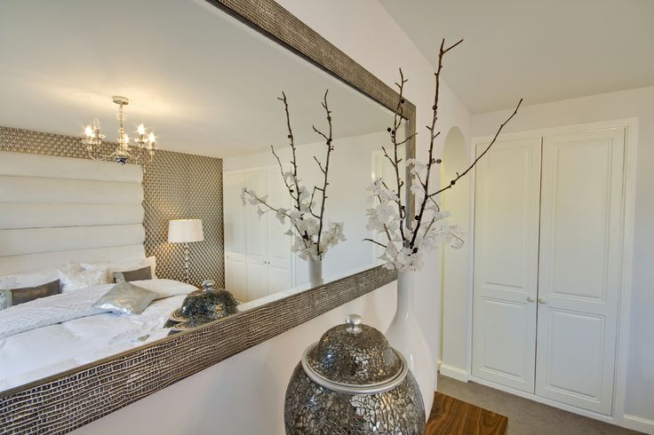 Mirror in the bedroom in The Harriett at our Homelands development in Bishop's Cleeve