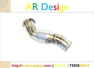 BMW F20F30 Catted Downpipe  We are thrilled to present our F20/F30 N55 Catted Downpipe. This downpipe adds significant power and helps eliminate turbo lag. 100% hand crafted in the USA from premium 304 Stainless Steel - flanges and O2 bungs included! http://ardownpipes.com/bmw-f20-f30-catted-downpipe/