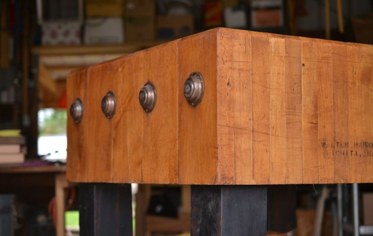 Free Standing Butcher Block Woodworking Projects Amp Plans