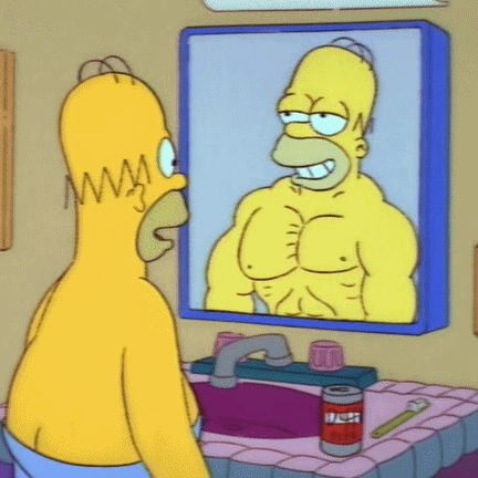 People who admire themselves in the mirror. | The 18 Worst People You Meet At The Gym