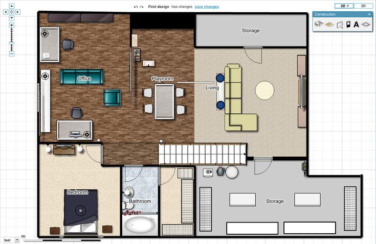 Best 25 basement floor plans ideas on pinterest for Man cave floor plans