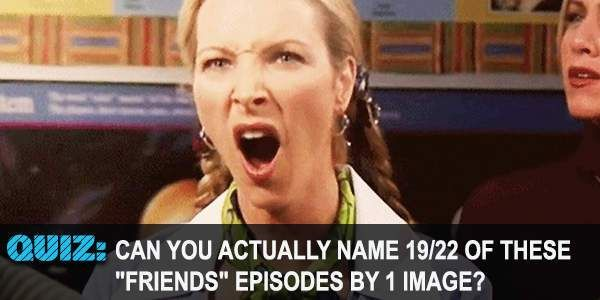 How well do you remember episodes of the TV show Friends and the lives of Rachel Green,  Monica Geller.  Ross Geller, Joey Tribbiani, & Phoebe Buffay?