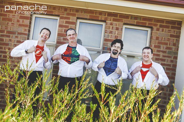 Superhero Groomsmen - Bridal Party - Groom - Wedding - Weddings - Panache Photography - South Australia - Adelaide - Inspiration - Style - Unique - Adelaide Wedding Photography - Wedding Photography Adelaide - Adelaide Wedding Photographers - Panache Photography #weddinginspiration #adelaideweddingphotographers #weddingphotographyadelaide #weddingphotography #panachephotography #groom #groomsmen #scotch #Adelaide #southaustralia #Australia