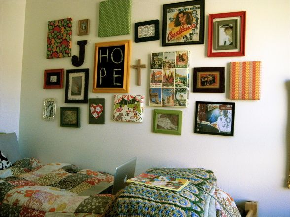 The Lovely Side: Eclectic Single Dorm Room