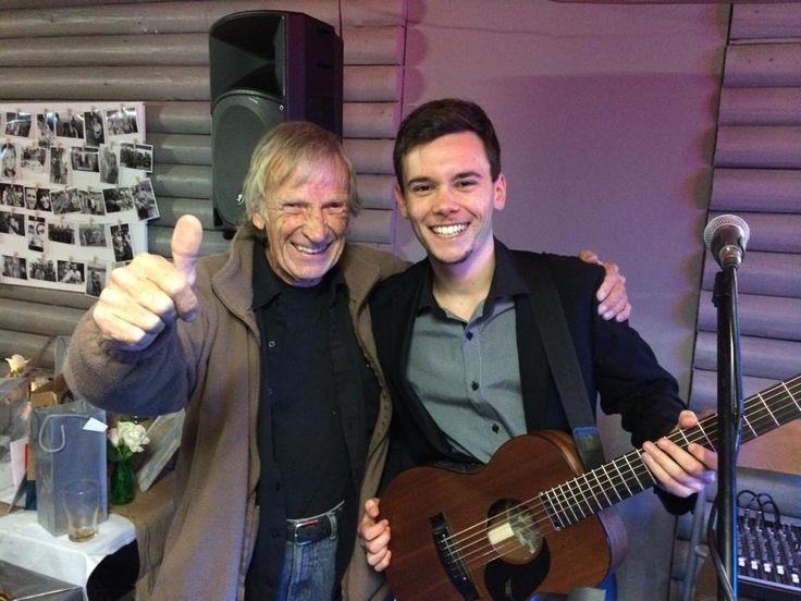 John Curry and I at Hardys Bay Club