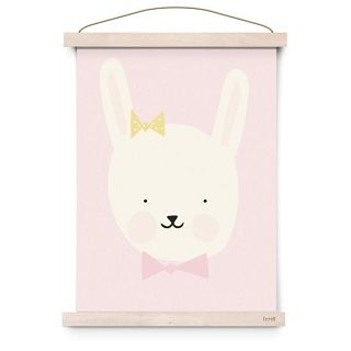 Eef Lillemor Miss Bunny Poster This Eef Lillemor print Miss Bunny will make a gorgeous addition to a nursery or childs room.  Makes a great gift framed and can also be teamed up with the with other animal prints from the new 2015 range to make a feature wall. $21.95 #easter #bunny #gift
