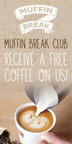 Join Muffin Break Club for #FREE #Coffee! #rewards