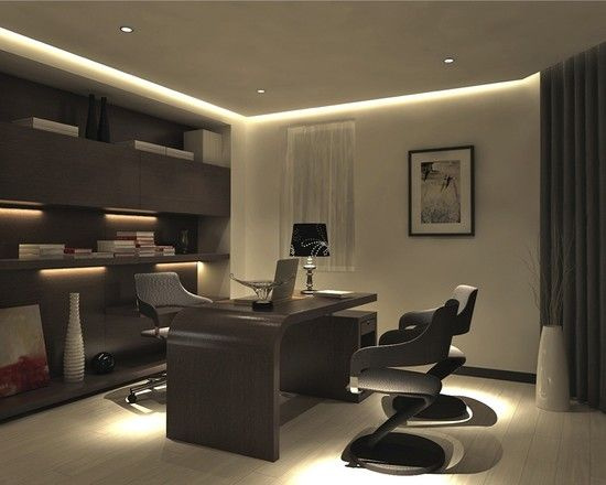 Modern Office Room] Best 25 Modern Office Spaces Ideas On ...