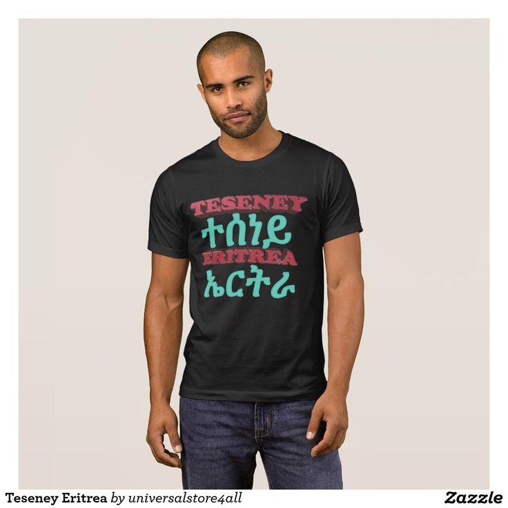 Teseney Eritrea T-Shirt