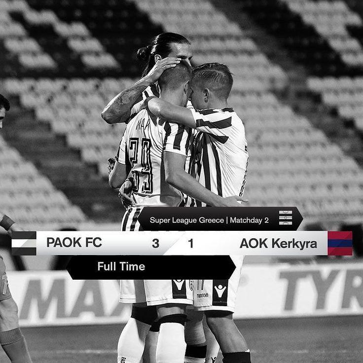 #PAOKAOK 3-1 #SuperLeague