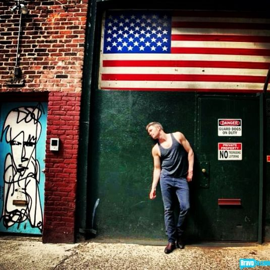 Million Dollar Listing New York's Ryan Serhant is proud to be an American, where at least he knows he's free (to wear tank tops).