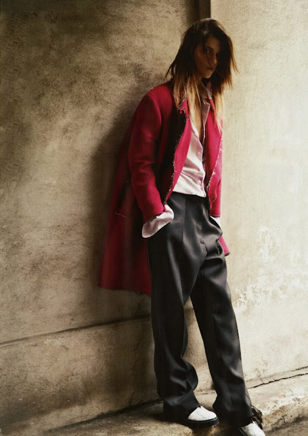 VOGUE RUSSIA SEPTEMBER 2012 - BOYISH - MAN STYLEMindfulness Wear, Inspiration, Vogue Russia, Men Style, September 2012, Fashion Editorial, Russia September, Man Style, Kasia Struss