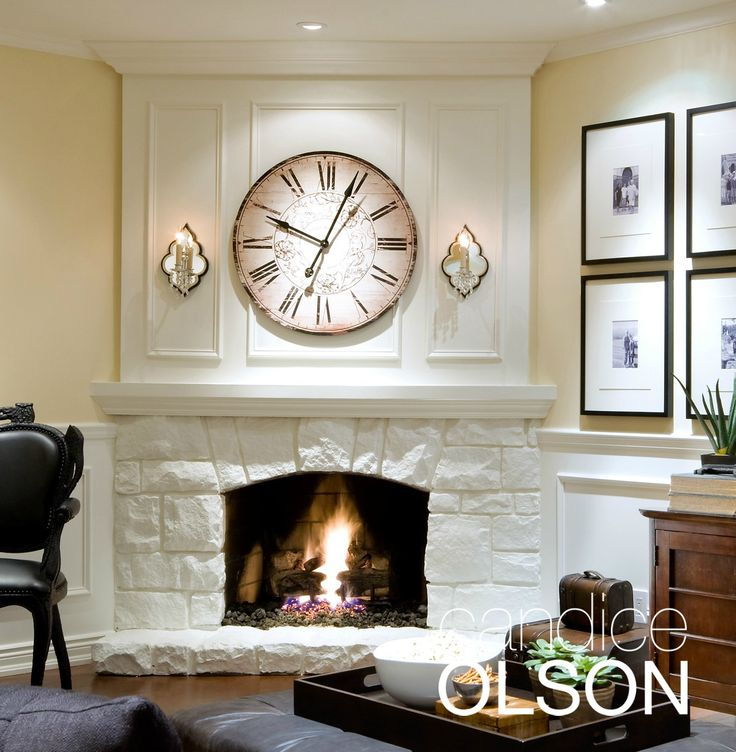 33 best fireplace design images on pinterest corner - Candice olson fireplaces ...