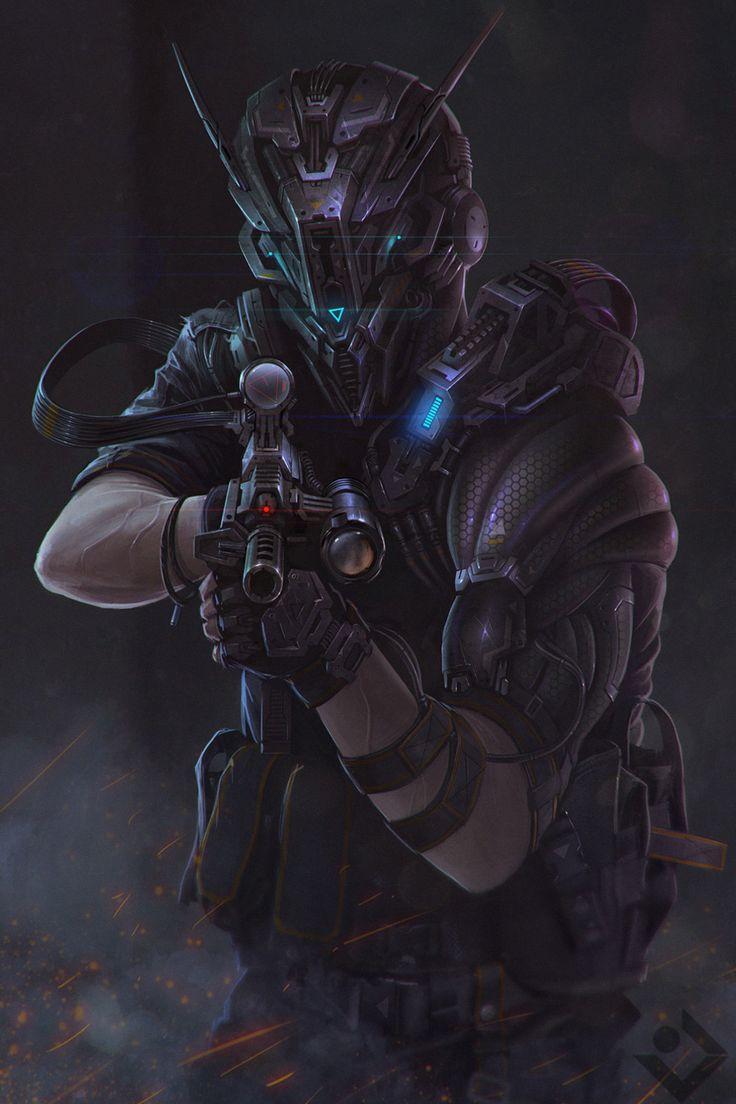 ArtStation - sci-fi character, Dmitry Lyapin