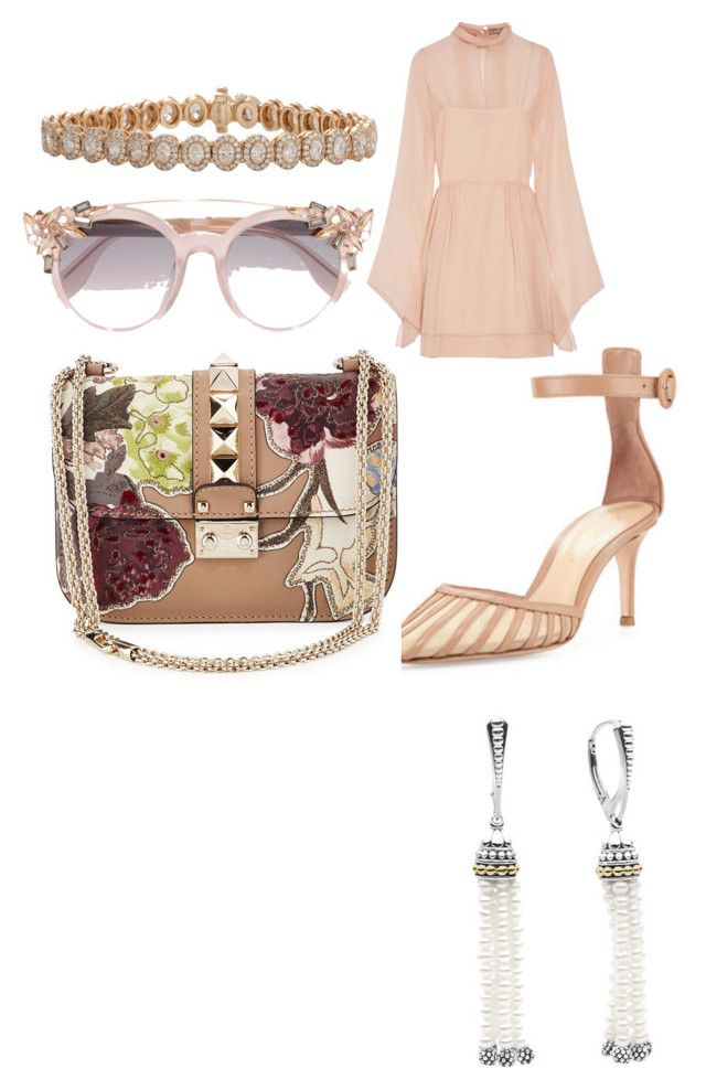 """""""Sans titre #7"""" by misleydy on Polyvore featuring mode, Gianvito Rossi, Emilio Pucci, Inbar, Lagos, Jimmy Choo et Valentino"""